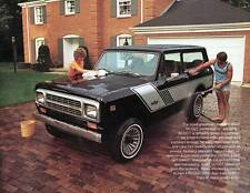 Old Print.  1980 International Scout II Auto Advertisement