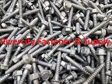 (50) 5/16 x 2-1/2 Galvanized Hex Head Flange Lag Bolts / Wood Screws 5/16x2.5