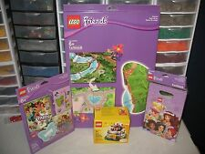 "LEGO  FRIENDS   ""BIRTHDAY PARTY KIT""    PLUS PLAY MAT NIB"