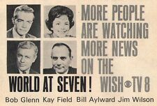 Ad~BOB GLENN~KEY FIELD~BILL AYLWARD~JIM WILSON~WISH NEWS~INDIANAPOLIS INDIANA