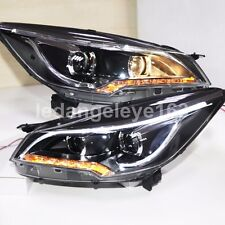 For FORD 2013 to 2015 Year KUGA Escape LED Strip Headlights Front Lamps TLZ