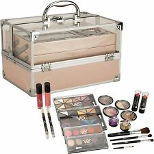 Teens Girls 24 Piece Makeup Cosmetic Starter Kit Set Storage Case All In One