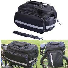Doppel Gepäckträger Fahrrad Gepäcktasche Satteltasche Fahrradtasche Tasche Sport