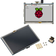 """5"""" Resistive Touch Screen LCD Display HDMI for Raspberry Pi XPT2046 LY"""