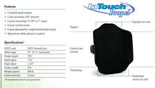Invacare InTouch Propel Wheelchair Back Cushion Support ITPR