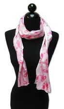 Pink Ribbon Breast Cancer Awareness Scarf Headband Sash
