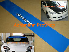 "53"" Spoon Sports Windshield decal sticker sunstrip banner sunvisor s2000 fd2 ep3"