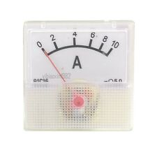 1Pcs 91C16 5 Class Housing DC 10A Scale Analog Pointer Ampere Panel Meter