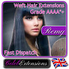 ♚REMY Indian DOUBLE WEFT FULL HEAD Human REMI Hair Extensions #4 Chocolate Brown