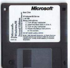 windows 98se  boot disk with cd rom support freash copy