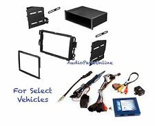 Car Stereo Radio Dash Kit Combo Onstar Steering Controls w/+w/o Bose for some GM