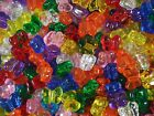 Pony Beads Butterfly Shaped 50pc Transparent Mix Party Fun Shape FREE POSTAGE
