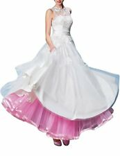 Retro Ankle Length Wedding Dresses Petticoats Crinoline Formal Prom Underskirt