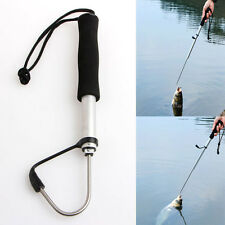 70cm Mini Telescopic Retractable Fish Gaff Ice Sea Fishing Spear Hook Tackle New