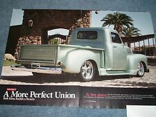 "1951 Chevy 3100 Pickup Truck Article ""A More Prefect Union"""