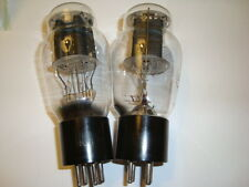 Matched Pair of 2A3 Tubes, RCA