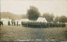 5th Field Ambulance. Tidworth 1912. - D K Audus, Church Lane, Isleham  BG.379