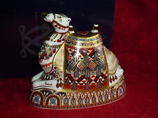 Royal Crown Derby Paperweight     HARRODS  CAMEL    1997