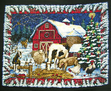 CHRISTMAS QUILT PANEL
