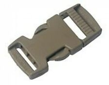 "ITW Nexus Tan GhillieTex IRR 20mm Side Release Buckle ( 1"" Military Plastic"