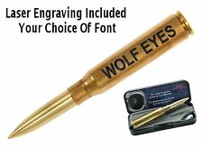 Fisher Personalized .338 Lapua MAG Casing Bullet Pen
