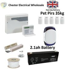 Honeywell Accenta Mini G4 LCD Burglar Intruder Alarm Kit House 5 x Pet Pirs 35kg