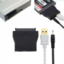 "USB 3.0 To SATA Converter Adapter Cable For 2.5"" 3.5"" Hard Drive SSD+12V Power"