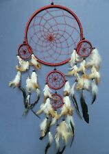 LARGE DREAMCATCHER EARTH BROWN APACHE INDIAN STYLE DREAM CATCHER GOOD QUALITY