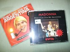 Madonna       CD LOT          Don't Cry For Me Argentina