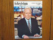 June 27, 1982 St. Louis Post-Dispatch TV Magazine(FRANK  REYNOLDS/FALCON  CREST)