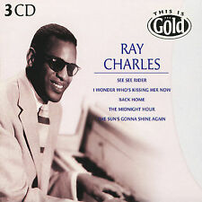 This Is Gold by Ray Charles NEW SEALED 45 TRACKS CD, Aug-2004, 3 Discs, Disky)