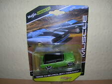 Maisto Design Muscle 1955 Chevrolet Nomad grün green, 1:64