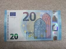 European Union €20 Euros Uncirculated Paper Note Currency $20 EUR