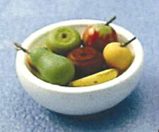 Dolls House Miniature: Bowl of Fruit  in 12th scale