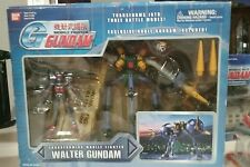 Transforming Mobile Fighter Walter Gundam w exclusive Dark Noble G figure Bandai