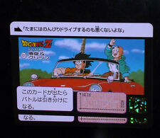DRAGON BALL GT Z DBZ HONDAN FUKKOKU CARDDASS DP CARD CARTE 127 JAPAN 2015 NEUF