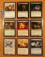 9 x MAGIC THE GATHERING MINT TRADING CARDS MIXED EDITIONS  #112