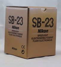 Empty Box for Nikon SB-23 Speedlight Flash