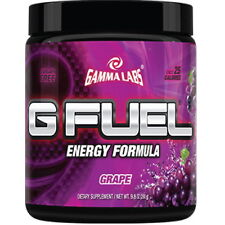 Gamma Labs G Fuel Grape 40 servings Natural Energy Drink Gfuel NEW FLAVOR