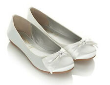 MONSOON Bow Ballerina Shoes Kids Size UK 11 Size EUR 29 BNWT