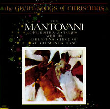 The Great Songs of Christmas - Mantovani Orchestra & Chorus - LP