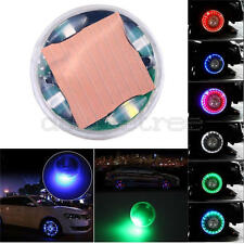 13 Mode Solar Energy LED Car Auto Flash Wheel Tire Valve Cap Neon Light Lamp