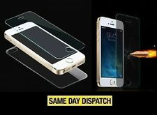 Front & Back iPhone 5 5s 100%Genuine Tempered Glass Film Screen Protector Cover