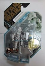 2007 Star Wars McQuarrie Concept Stormtrooper Ultimate Galactic Hunt Gold Coin
