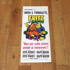 FRITZ IL GATTO locandina poster affiche Ralph Bakshi The Cat Animazione 1972