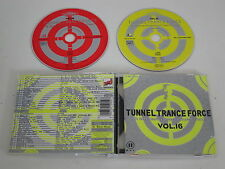 VARIOUS/TUNNEL TRANCE FORCE VOL. 16(TUNNEL RECORDS 501995 2) 2XCD ALBUM