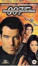 Tomorrow Never Dies (VHS, 2003) Pierce Brosnan Michelle Yeoh Teri Hatcher movie