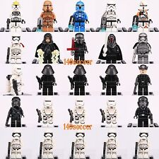 25pcs set Star Wars Mini figures Emperor Rylo Ren Storm Trooper Custom Lego
