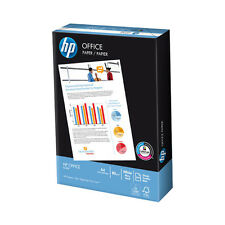 HP A4 80gsm White Copier Printer Office Paper Laser Inkjet - 500 Sheets 1 ream
