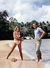 PHOTO JAMES BOND 007 CONTRE DR NO - URSULA ANDRESS ET SEAN CONNERY /11X15 CM #3